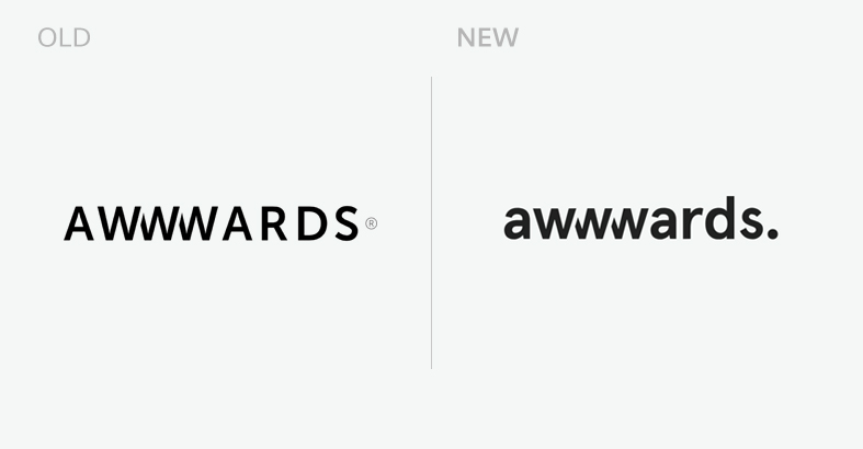 Awwwards new logo