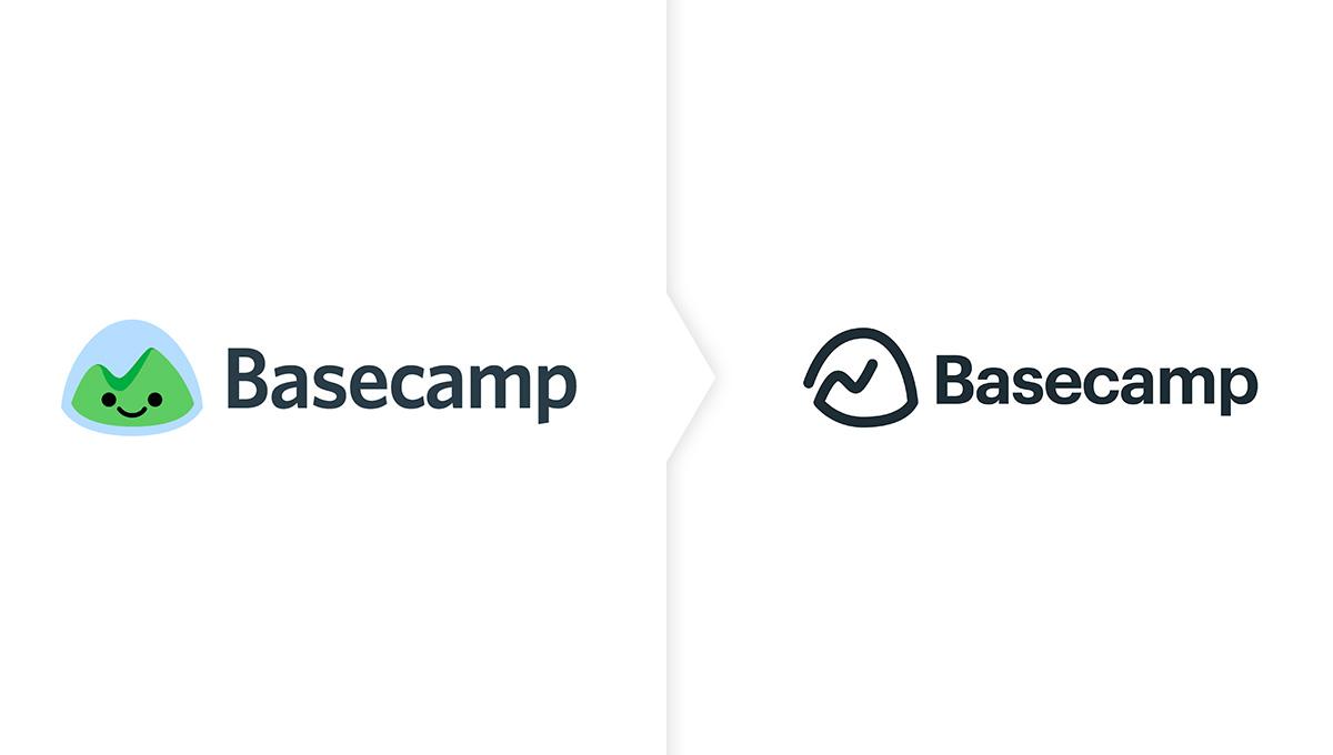 basecamp nowe logo - seven design blog