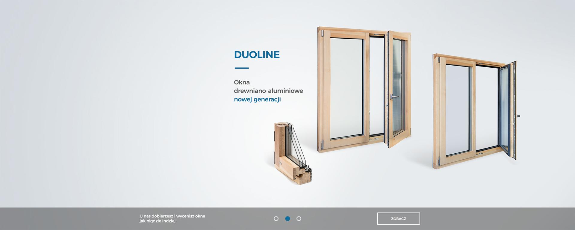 NoweOkna.pl - Baner Duoline